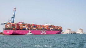 قطار محمل بـ1305 أطنان قمح يغادر ميناء دمياط متجه لصوامع شبرا