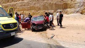 صدمة نهاية عيد الأضحى.. أكبر عدد ضحايا: 3 جثث و61 مصابا في 7 حوادث