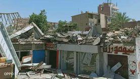 تنفيذ 16 قرار إزالة للتعديات والإشغالات في حي الأربعين بالسويس