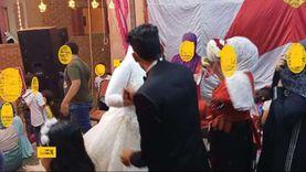 """تصرفات جنونية لمعازيم فرح بالدقهلية.. العريس قطع فستان عروسته: """"اتسحروا"""""""