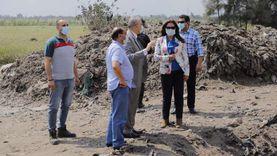 محافظ دمياط تجرى زيارة تفقدية لمصنع أبو جريدة لتدوير القمامة بفارسكور