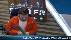 أحمد يونس يبدأ حلقة «صباحك مطرحك» بالتعقيم
