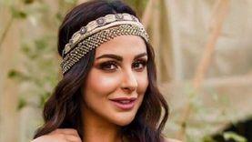 ميس حمدان تجري مسحة كورونا بعد اختلاطها بحالة مصابة