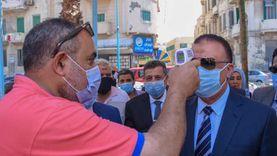 محافظ الإسكندرية يطمئن على سير العملية الانتخابية