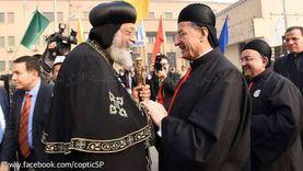 البابا تواضروس يطمئن هاتفيا من البطريرك بشارة الراعي على أوضاع لبنان