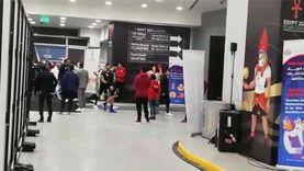 بكاء لاعبي منتخب اليد بعد خسارة ملحمة الدنمارك في كأس العالم