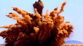 فيديو.. لحظة تدمير السودان 300 ألف سلاح غير شرعي بتفجير واحد