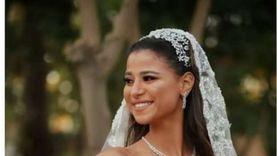 أبرز لقطات في حفل زفاف دينا داش.. «صور وفيديو»