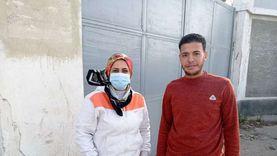 شاب ينقذ سائقا سقطت سيارته في قناة الاتصال ببورسعيد