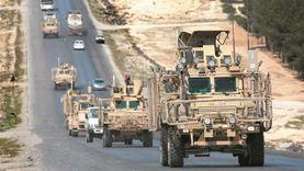 40 آلية عسكرية للتحالف تدخل الأراضي السورية نحو ريف الحسكة