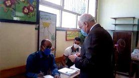 محافظ الجيزة يدلي بصوته في انتخابات النواب بالهرم
