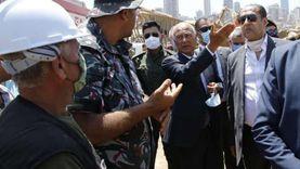 أبو الغيط يختتم زيارته التضامنية لبيروت