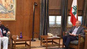سفير مصر في بيروت يلتقي نبيه بري لبحث مساعي تشكيل الحكومة اللبنانية