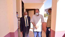 محافظ أسيوط يتفقد تطوير المبنى الإداري وورش الإنقاذ السريع