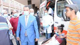 حملة طلابية للتبرع بالدم والكشف عن الأنيميا لصالح مستشفيات أسيوط