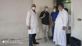 مجازاة فريق السلامة والصحة المهنية بمستشفى الحسينية لإغلاق باب طوارئ