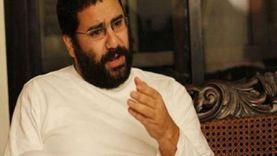 الجنايات تجدد حبس علاء عبدالفتاح وآخرين 45 يوما