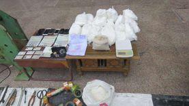 ضبط 4 تجار مخدرات في حملة أمنية بالقليوبية