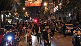 اشتباكات عنيفة بين متظاهرين وقوات الأمن أمام البرلمان اللبناني