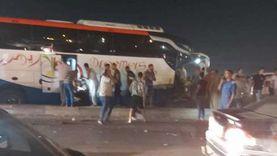 21 إصابة في حادث أتوبيس الإسكندرية.. و2 حالتهما خطرة