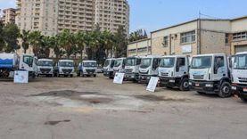 الإسكندرية تستعد لنوات الشتاء بدعم أسطولها بسيارات كسح جديدة
