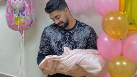 """مينا عطا بعد قدوم مولودته: من النهارده أبو """"تمارا"""" راح أبو """"تمارا"""" جه"""