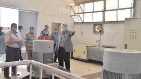 محافظ أسيوط يتفقد مجمع الصناعات الصغيرة والمتوسطة بمنطقة عرب العوامر
