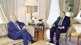 مباحثات بين وزيري خارجية مصر واليونان تمهيدا لاتفاق تعيين الحدود