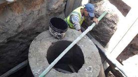 استمرار العمل في 76 مشروعا للصرف بقرى «حياة كريمة» بسوهاج