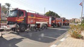السيطرة على حريق في 3 منازل بالإسماعيلية دون إصابات