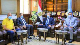"""""""نور الدين"""" يستقبل رئيس الأبنية التعليمية لافتتاح 5 مدارس جديدة"""