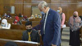 3 آلاف و669 طالباً يؤدون امتحانات التيرم الأول بجامعة الفيوم