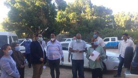 وفد مجلس الوزراء يتابع مشروعات مبادرة حياة كريمة في 3 قرى بقنا