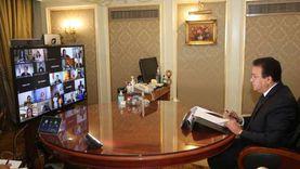 """""""عبدالغفار"""" يلقي كلمة المجموعة العربية أمام المجلس التنفيذي لليونسكو"""