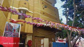 كنيسة بالشرقية تعلق زينة رمضان وهلال وصليب.. والقس إيليا: شهر محبة