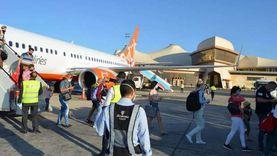 مطار شرم الشيخ الدولي يستقبل 12 رحلة سياحية على متنها 2265 شخصا