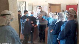 نائب محافظ بني سويف يتابع سير المنظومة الصحية بالمستشفيات الحكومية