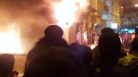 عاجل.. السيطرة على حريق هائل نشب في مخزن ورق شرق الإسكندرية