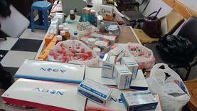 ضبط أدوية منتهية الصلاحية وبدون فواتير خلال حملة على صيدليات دمياط