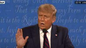 """ترامب: لو كان بايدن الرئيس لزاد عدد المصابين بالفيروس """"الصيني"""""""