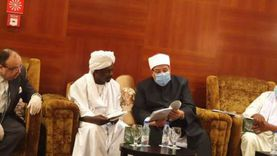 وزير الأوقاف يلتقي رئيس مجمع الفقه الإسلامي بالسودان