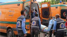 إصابة 3 أشخاص في حادث انقلاب سيارة بالإسماعيلية