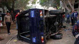 أسماء المصابين في حادث تصادم «بوكس» شرطة بالفيوم