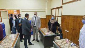 افتتاح مقر لجنة طبية جديدة بديلا لمستشفى «برقوقة» بالبحيرة