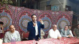 محمود بدر يحذر أهالي الشرفا من الانسياق لجماعات الضلال