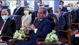 السيسي: البعض يرفض أن تكون مصر مركزا للغاز مثل أوبك في المنطقة