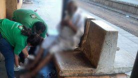 «أطفال وكبار بلا مأوى» ينقذ عجوز مشرد بالإسكندرية