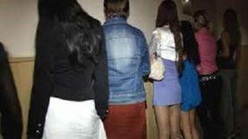 تفاصيل ضبط 40 فتاة بتهمة التحريض على الفسق والدعارة بالجيزة