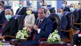 السيسي عن تطوير شرق العاصمة: لصالح الكل مش أهل مدينة نصر بس