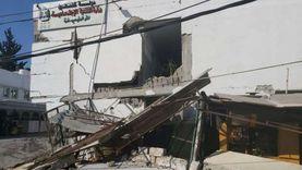 عاجل.. قوات الاحتلال تستهدف مبنى يتبع داخلية حماس في غزة